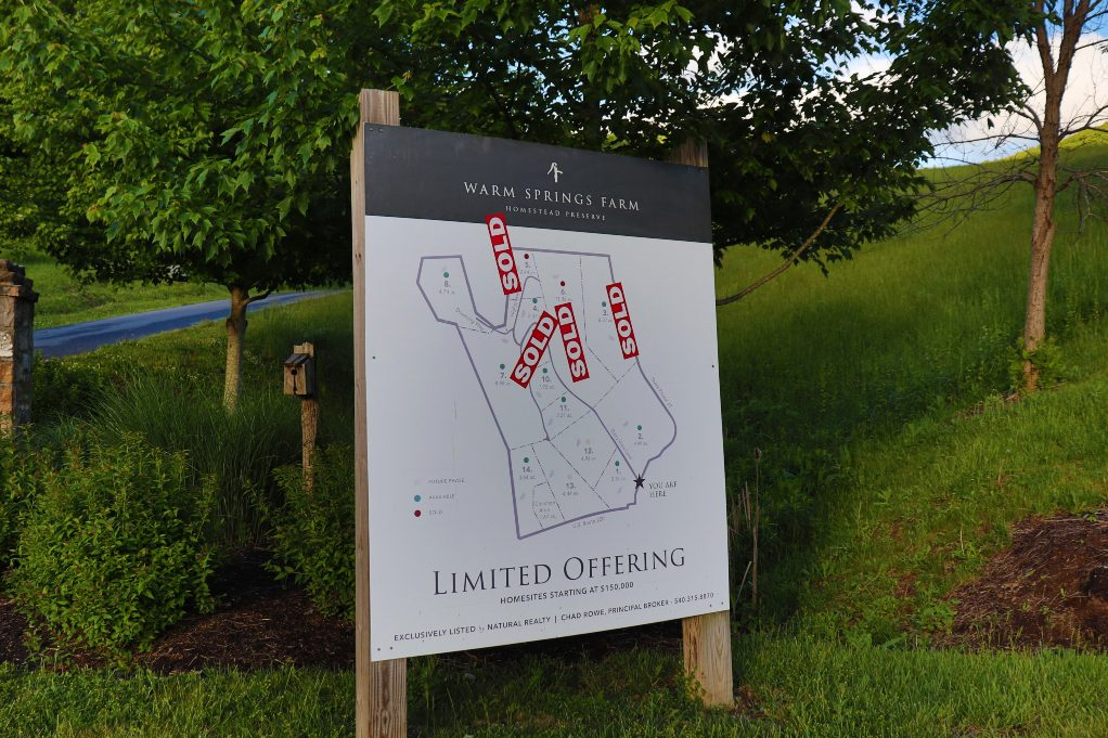 Sold Properties At Warm Springs Farms